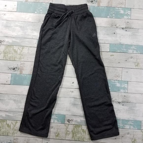 b4823dce5614 adidas Pants - Adidas Gray Climawarm Fleece Lined Athletic Pants